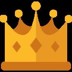 Casilando använder en kungakrona i sin marknadsföring