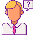 En bild på ett frågetecken som illustrerar och hjälper till att svara på frågor angående Jalla casinos välkomstbonus, bonus och spelutbud.