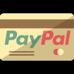 Bild på ett kreditkort med PayPal som fungerar på ett fåtal casinon.