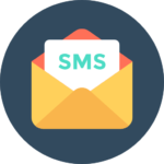 bild på ett SMS meddelande